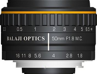 50 mm F-mount Machine Vision Lens, BMT-50F18MP