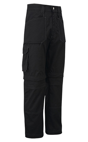 Castle Endurance Work Trouser Made With Ripstop Fabric, Knee Pad Pockets, Zip Off Leg