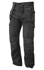 Merlin Tradesman Work Trouser, Multi Functional Hard Wearing Trouser - Graphite Grey