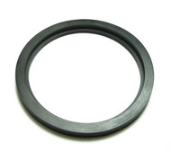 "Flanged DN76 (3"") Style Gasket for Racking Arms Black EPDM"