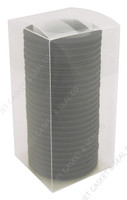 "2.5"" Black Viton Tri-Clamp Gasket Box of 25"