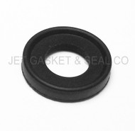 "1/2"" Black Viton Tri-Clamp Gasket Box of 25"