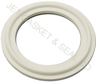 "2"" White Silicone Tri-Clamp Gasket"