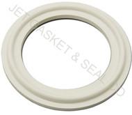"3"" White Silicone Tri-Clamp Gasket"