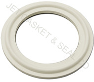 "4"" White Silicone Tri-Clamp Gasket"