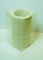 "3"" White Teflon 100% Virgin PTFE Tri-Clamp Gasket Box of 25"