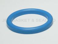"DIN 11851 DN80 Style Gasket 3"" Blue Buna"