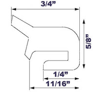 "20"" Grey EPDM Manway Gasket Compatible with Alfa Laval G&H"