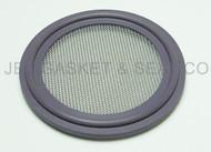 "Tri Clamp Screen Gasket 1.5"" Purple Viton GF600S 80 Mesh"