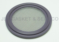 "Tri Clamp Screen Gasket 2"" Purple Viton GF600S 40 Mesh"
