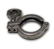 "TRI-CLOVER 304 STAINLESS 6"" CLAMP TC STYLE"
