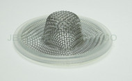 "2"" Tri Clamp Sock Screen Gasket Platinum Silicone 16 Mesh .75"""