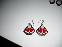 Russian Santa Earrings