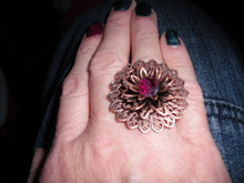 Ring -  another copper flower