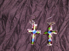 Cloisonee Crosses