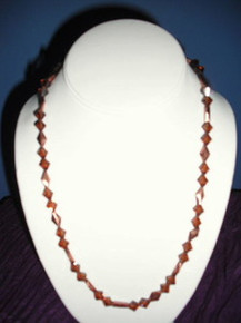 Celia Crystal and Copper Necklace