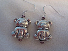 Adorable Teddy Earrings