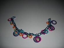 Kinky Teal Summer Bracelet