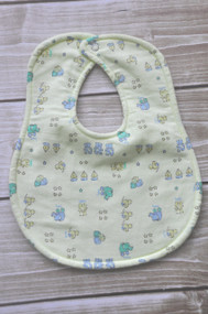 Yellow Neutral Baby classic bib