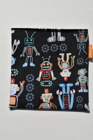 Blue Robots snack bag