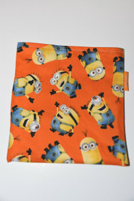 Orange Minion Snack Bag