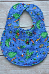 Bugs Lunch in Blue classic bib