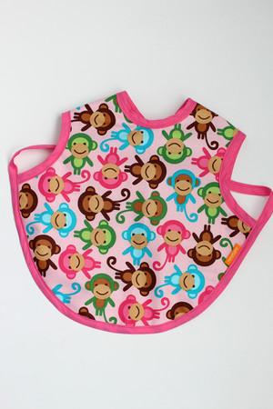Pink Monkey bapron size large