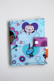 Doc McStuffins crayon wallet closed view