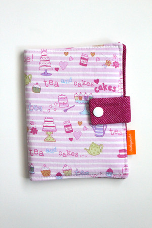 Tea Time crayon wallet closed view