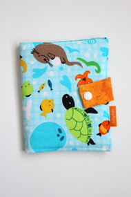 Under the Sea crayon wallet closed view