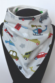 On the Go bandana bib with bamboo back