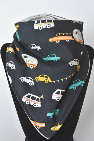 Joyride bandana bib with bamboo back