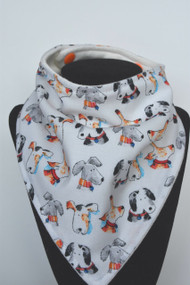Take Me Home bandana bib with bamboo back
