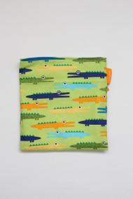 Alligators reusable snack bag