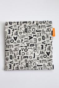 Alphabet snack bag