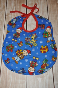 Bob the Builder classic bib with tie around the neck
