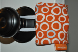 Orange Circles Door Silencer