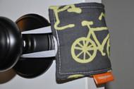 Bicycles in Yellow Door Silencer
