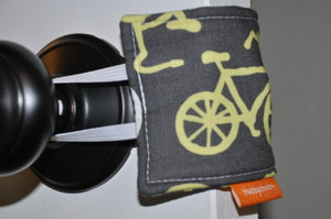 Bicycles in Yellow Door Silencer