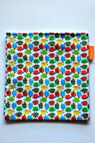 Colourful Turtles snack bag