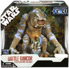 Star Wars Force Unleashed 2008 Battle Rancor with Felucian Rider & Saddle Exclusive Action Figure Set