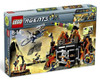 LEGO Agents Mission 8: Volcano Base Exclusive Set #8637