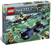 LEGO Agents Mission 7: Deep Sea Quest Exclusive Set #8636