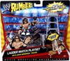 WWE Wrestling Rumblers Series 1 Ladder Match Mini Figure Playset [With John Morrison]