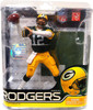 McFarlane Toys NFL Green Bay Packers Sports Picks Series 27 Aaron Rodgers Action Figure