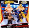 WWE Wrestling Rumblers Series 1 Kane & Rey Mysterio Mini Figure 2-Pack