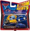 "Disney Cars Cars 2 Action Agents Rod ""Torque"" Redline Plastic Car"