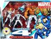 Marvel Universe Super Hero Team Packs Fantastic Four Action Figure Set [Future Foundation White Uniforms]