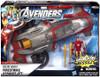 Marvel Avengers Comic Series Iron Man Firestrike Assault Jet Action Figure Vehicle