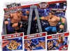 WWE Wrestling Power Slammers Steam Rolling Randy Orton & Thunder Twisting John Cena Action Figure 2-Pack